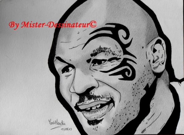 Mike Tyson by MisterDessinateur45